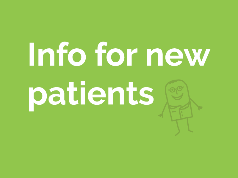 Information for New Patients